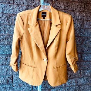 XOXO Mustard Color Blazer/Jacket EUC | M